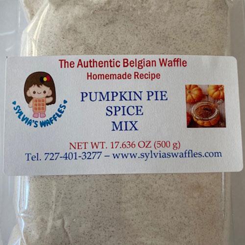 pumpkin pie spice waffle mix