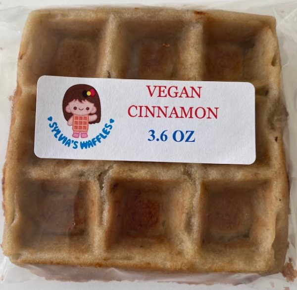 Vegan Cinnamon Waffle